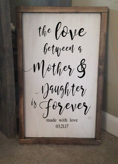 With an 's'.....Love between a mother and daughters
