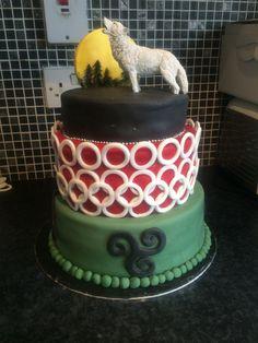 Teen wolf cake