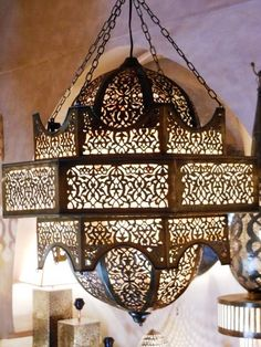 superb Moroccan ceiling light or lam