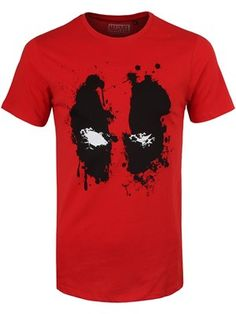 If Marvel's anti-hero Deadpool is your favourite mercenary of all time, this original men's red tee is a must have! Featuring the iconic eyes of this dark…
