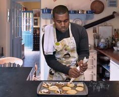 I guess you can't expect him to be as good a baker as he is a rapper