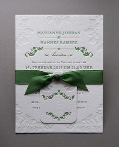 Letterpress-Hochzeit-M&H1 Wedding Stationery, Wedding Invitations, Paper Goods, Place Card Holders, Frame, Prints, Stationary, Decor, Cards