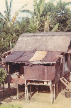 Baguio Philippines.  Picture of native hut.
