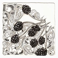 Shelly Beauch: Square One: Purely Zentangle