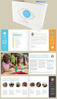 WPSBC Annual Report 2012-2013 - MarketSpace Communications #nonprofit #design