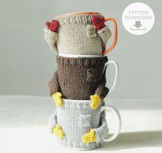 The Mug Sweater Knit Pattern by nawanoweDIY on Etsy, $5.00
