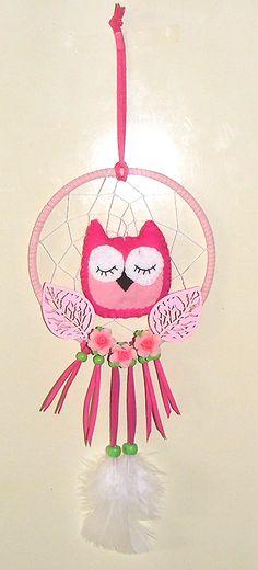 Mijn Dromenvanger- Dreamcatcher > Dromend Uiltje *Dreaming Owl < Graag nodig ik je uit mijn online Dromenvangers-Winkeltje te bezoeken met door mij ontworpen originele & unieke Dromenvangers. *I invite you to visit my online Dutch Dreamcatcher shop with my own personal, unique, once only Dreamcatchers. If you want you can mail me in English & German. http://dromenvangeres.marktplaza.nl
