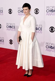 ginnifer goodwin in delphine manivet (and palter deliso) at the 2015 people's choice awards. #peopleschoice