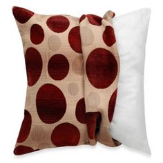 MYOP Pinwheel 20-Inch Square Toss Pillow Cover in Multi-Color - BedBathandBeyond.com Living ...