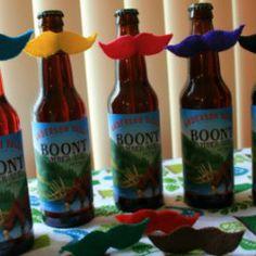 Handmade Gift Ideas: Mustache Beer Markers | Craftster Blog