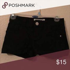 RSQ BLACK SHORTS Black size 0 shorts. Worn once. RSQ Shorts Jean Shorts
