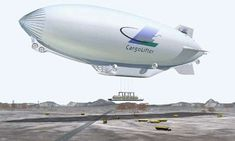 Helium-Powered Airships to Transport Cargo #eco #vehicles trendhunter.com