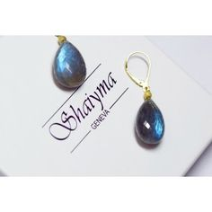 Artisanal, Labradorite, Personalized Items, Blue, Stuff To Buy, Handcrafted Jewelry, Stones, Boucle D'oreille, Silver