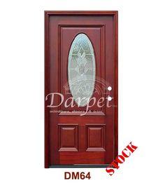 3/4 Std Oval Strathmore Zinc Caming DM64ST | Darpet Interior Doors for Chicago