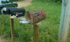 Prototype.. Log mailbox.. Diy