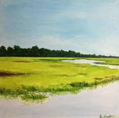James Island Marsh, Spring Tide