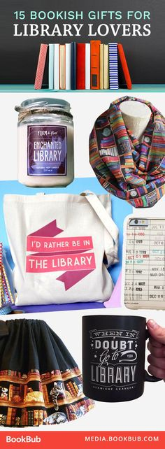 The way to our heart: library-themed gifts!