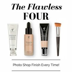 For a perfectly flawless look