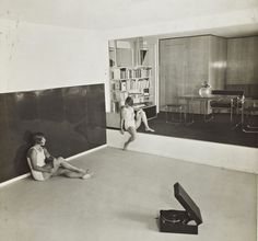 "design-is-fine: "" Marcel Breuer, apartment for a gymnastics teacher, Berlin, 1930 "" Breuer designed an apartment for Hilde Levi in The apartment was located on the ground floor of a house and. Marcel Breuer, Bauhaus, Berlin, Laszlo Moholy Nagy, Pilates Studio, Vintage Interiors, Modern Interiors, International Style, Artistic Photography"