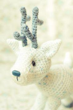 MELMALIA: Navidad, Navidad... ♪ ♫ ♩ ♬ reindeer crochet amigurumi
