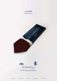La marque italienneE. Marinellaspécialisée dans les accessoires haut de gamme pour hommes et femmes a réalisé une jolie et amusante campag...