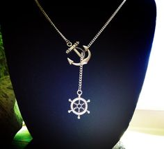 I refuse to sink lariat necklace by AuroraBorealis11 on Etsy, $16.50