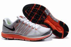 Mens Nike LunarElite+ 2 White Gray Red Shoes
