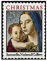 Madonna and child, by Antonello da Messina, United States, 1990