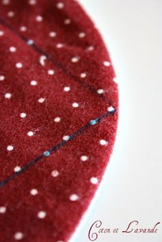 Coton et Lavande: Alfombra de patchwork y una dirección interesante...