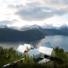 Mountain Lodge on Sognefjorden by Haptic - Norway