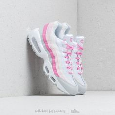 reputable site 39e46 1dc4b Nike W Air Max 95 Essential White  White-Psychic Pink-Pure Platinum Pour
