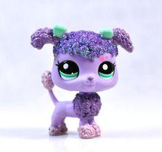 Purple pink Light purple light lavender Light blue and sparkle poodle with blue eyes on wishy list! :)