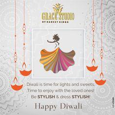 Grace Studio wishes all a stylish, fashionable, fun filled and joyous Diwali! #diwali #diwali2018 #diwaliwishes #festivities #fashion #festivefashion #fashionblog #fashiongram
