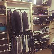 My Shelf,IKEA,クローゼット,収納,ハンドメイド,DIYに関連する他の写真