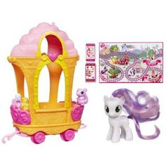 My Little Pony - Sweetie Belle with Friendship Train Carriage