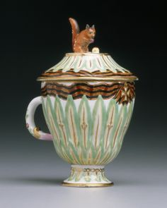 Covered Ice Cup from the Order of St. George Dessert Service, Gardner Factory, 18th century