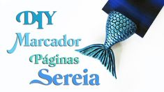 DIY: Como Fazer MARCADOR DE PÁGINAS SEREIA - Mermaid Tail Bookmark Tutorial Clay