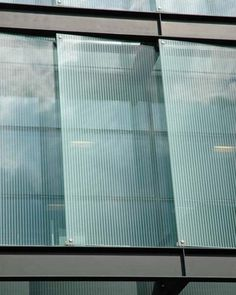 fritted glass pattern - Google Search Glass Building, Building Facade, Building Design, Fritted Glass, Glass Curtain Wall, Shop Facade, Glazed Glass, Glass Structure, Solar Shades
