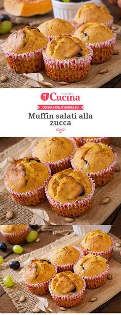 #Muffin salati alla #zucca