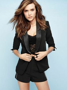 Victoria's Secret Tuxedo Jacket | #Chic Only #Glamour Always