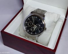 Checkout this latest Chronograph Watches Product Name: *staylish men watches* Strap Material: Leather Dial Design: Others Display Type: Analog Light: No Sizes:  Free Size Country of Origin: India Easy Returns Available In Case Of Any Issue   Catalog Rating: ★4.2 (1378)  Catalog Name: Attractive Men Watches CatalogID_1988996 C65-SC1232 Code: 482-10797895-816