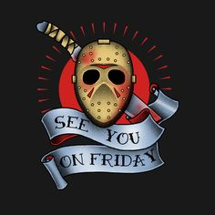 Check out this awesome 'friday+the+13th' design on @TeePublic!