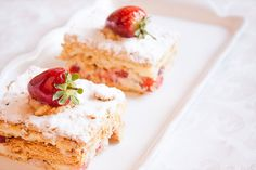 Strawberry Millefeuille - by Ivan, İstanbul