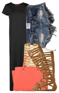 6|3|15 by miizz-starburst on Polyvore featuring Boohoo, Abercrombie & Fitch, Report, MICHAEL Michael Kors, Forever 21 and Accessorize