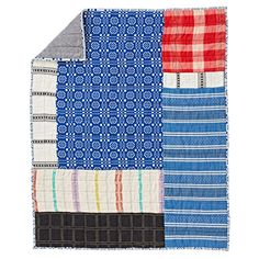 Ace & Jig Patchwork Baby Quilt