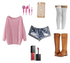 """""""#60"""" by thewaterdemon ❤ liked on Polyvore featuring Frye, One Teaspoon, Smashbox and CO"""