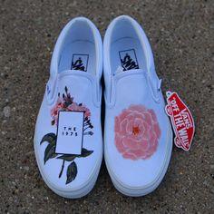 Custom Vans Shoes, Mens Vans Shoes, Custom Painted Shoes, Painted Vans, Vans Men, Hand Painted, Hype Shoes, On Shoes, Vans Shoes Fashion