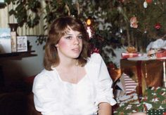 Photos of 20th Century Women at Christmas -1970s