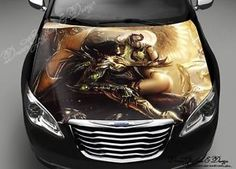 Abstract Full Color Graphics Adhesive Vinyl Sticker Fit Any Car - Vinyl stickers designabstract full color graphics adhesive vinyl sticker fit any car