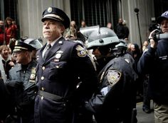 Retired Philadelphia Police Captain Ray Lewis is arrested for participating in the Occupy Wall Street protests in 2011.